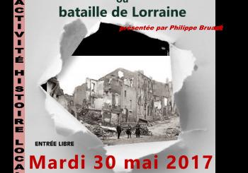 CONFÉRENCE LE 30 mai 2017