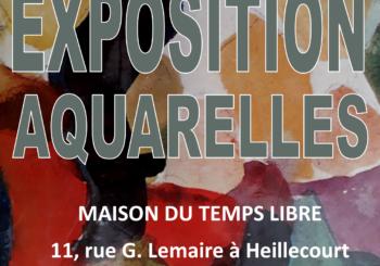 EXPO AQUARELLE du 28 février au 7 mars 2019
